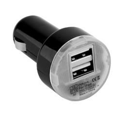 Компактный автомобильный адаптер USB